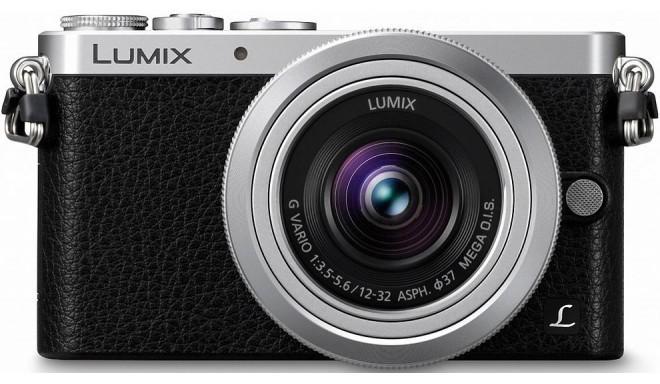 Panasonic Lumix DMC-GM1 + 12-32mm Kit, hõbedane