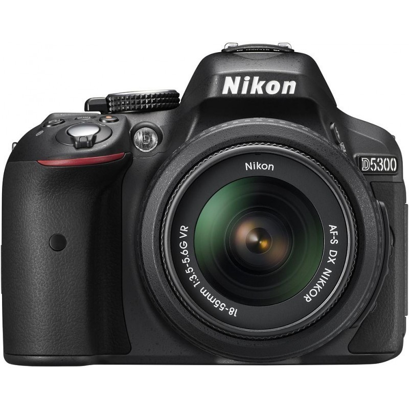 Nikon D5300 + 18-55mm VR Kit, must