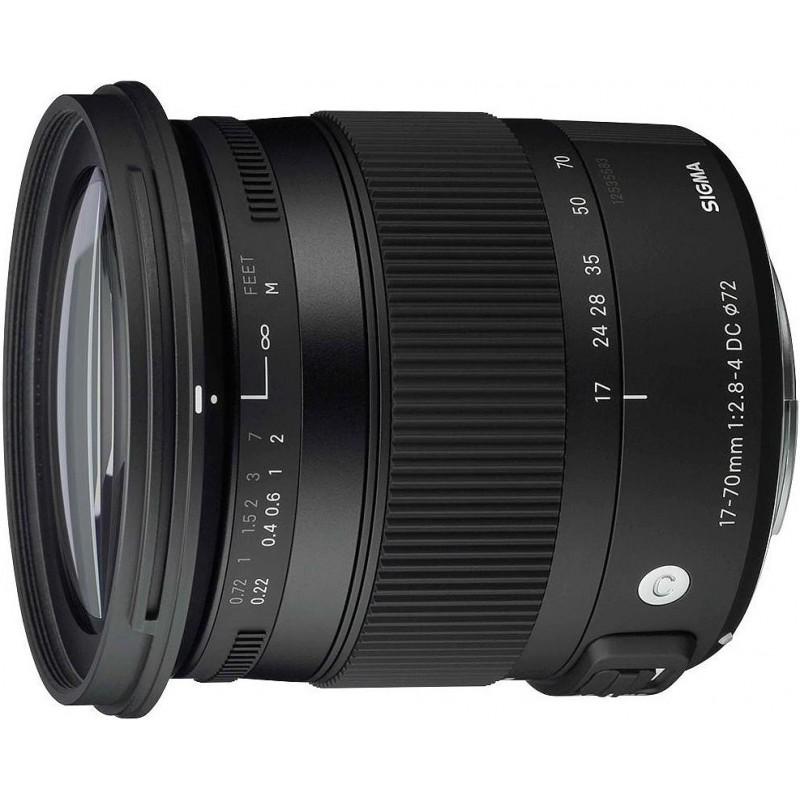 Sigma AF 17-70mm f/2.8-4.0 DC Macro OS HSM C objektiiv Nikonile