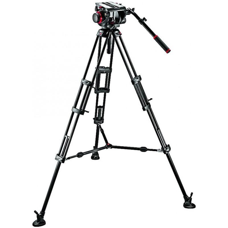 Manfrotto videostatiiv 545BK + 509HD Pro Video 100 statiivipea