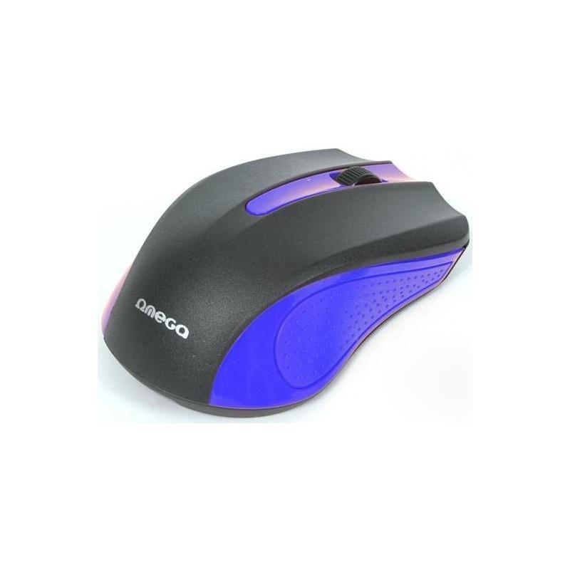 Omega mouse OM-05BL, blue