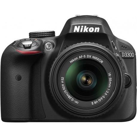 Nikon D3300 + 18-55mm VR II Kit, must