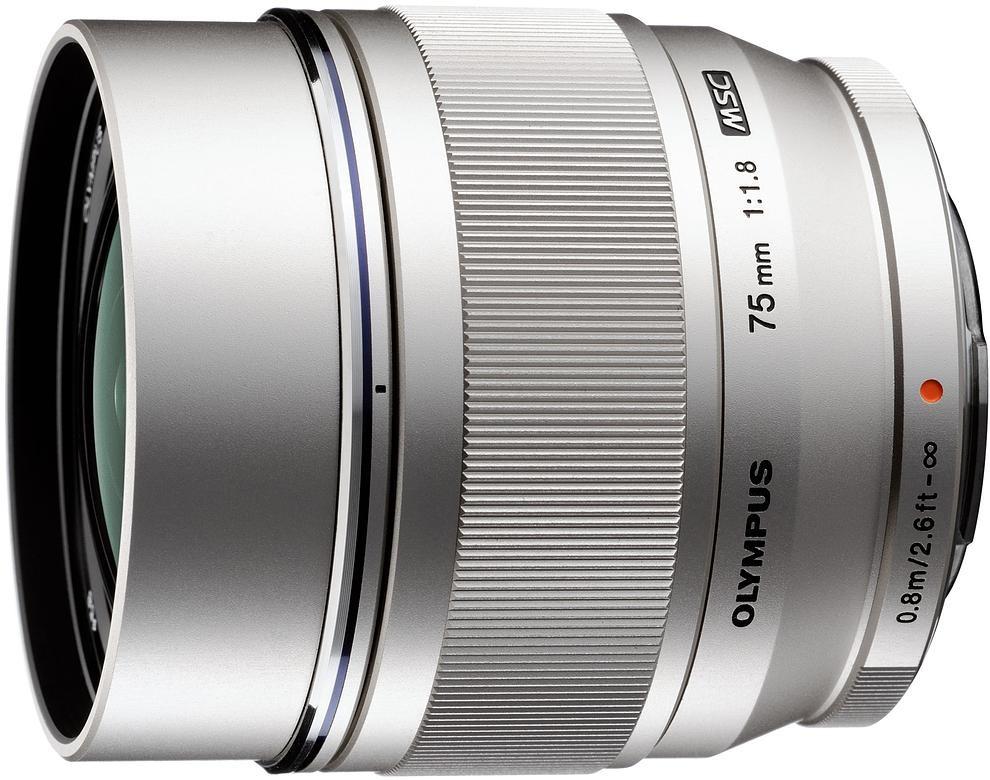 M.Zuiko Digital ED 75mm f/1.8 objektiiv,..