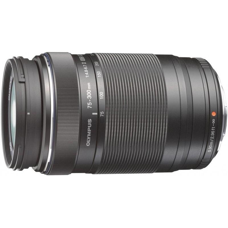 M.Zuiko Digital ED 75-300 мм f/4.8-6.7 II чёрный