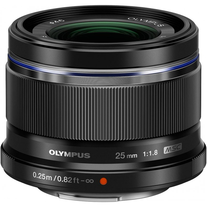 M.Zuiko Digital ED 25мм f/1.8 объектив, чёрный