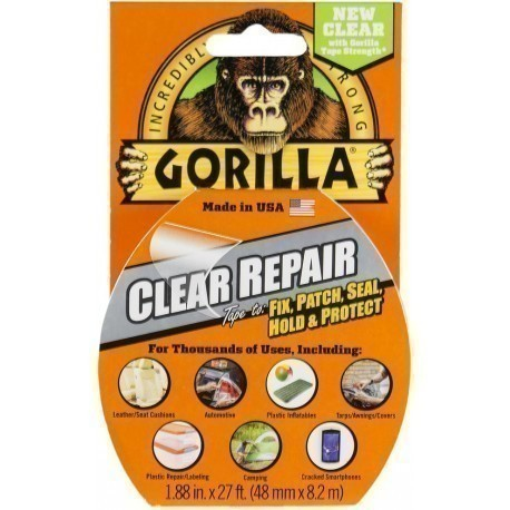 "Gorilla teip ""Clear Repair"" 8,2m"