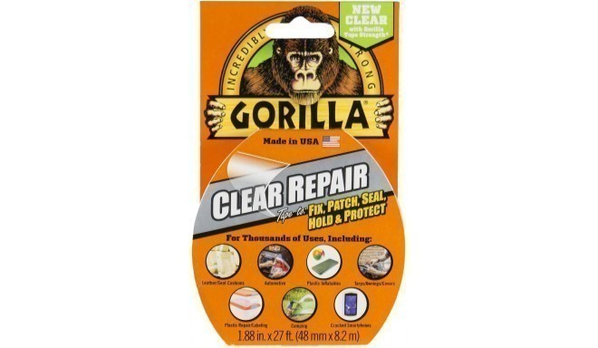 "Gorilla teip ""Clear Repair"" 8,2m"