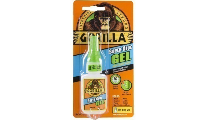 "Gorilla клей ""Superglue Gel"" 15г"