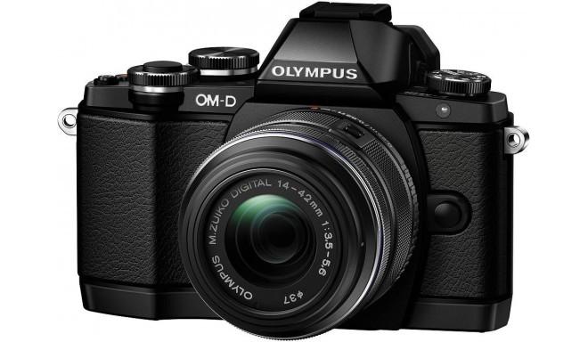 Olympus OM-D E-M10 + 14-42мм II R Kit, чёрный