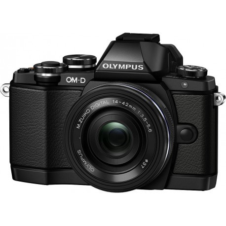 Olympus OM-D E-M10 + 14-42mm EZ Kit, black