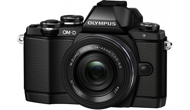 Olympus OM-D E-M10 + 14-42мм EZ Kit, чёрный