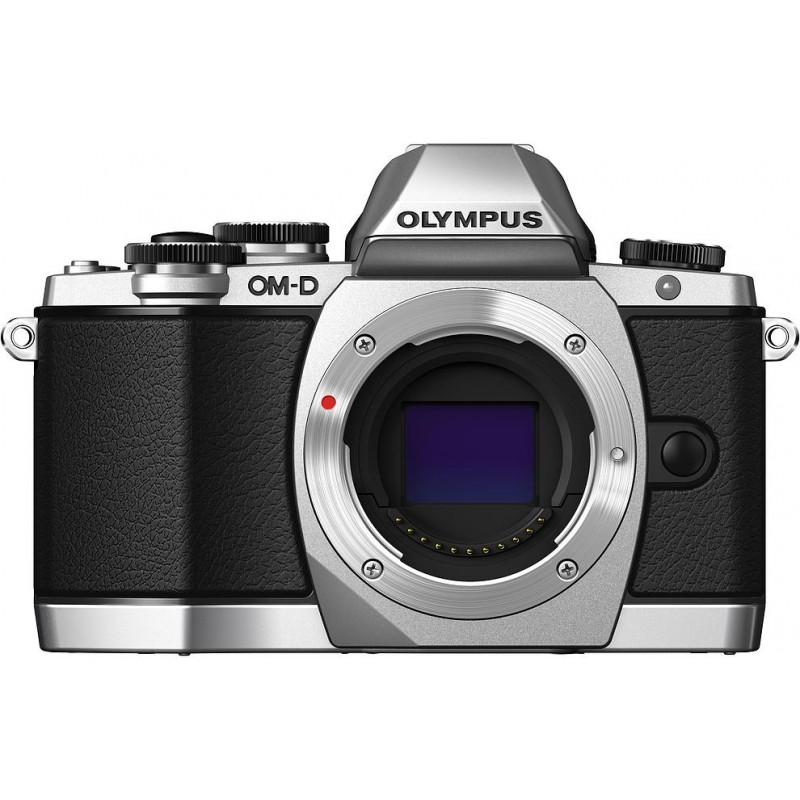 Olympus OM-D E-M10 + 14-42 II R Kit, серебристый