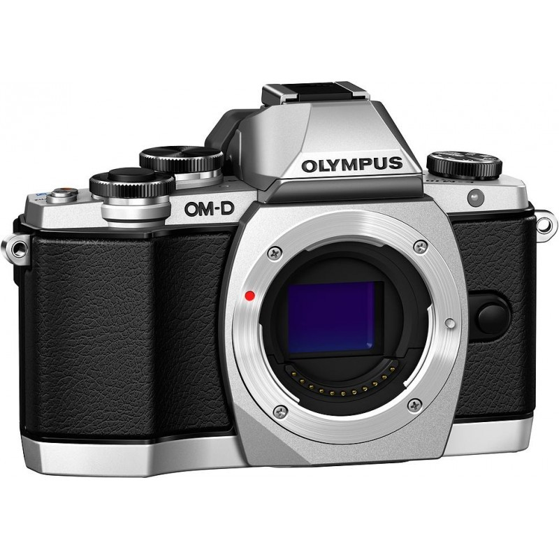 Olympus OM-D E-M10 + 14-42 II R Kit, hõbedane