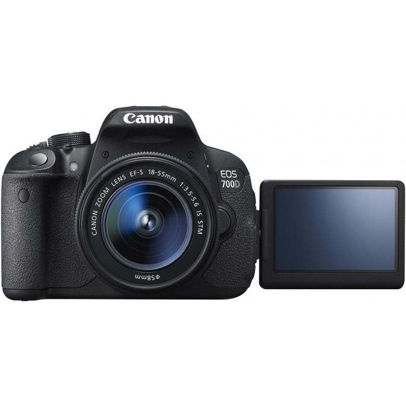 Canon EOS 700D + 18-55 мм STM + 55-250 мм STM Kit