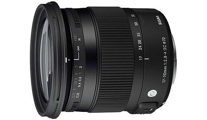 Sigma 17-70mm f/2.8-4 DC Macro HSM Contemporary objektiiv Pentaxile