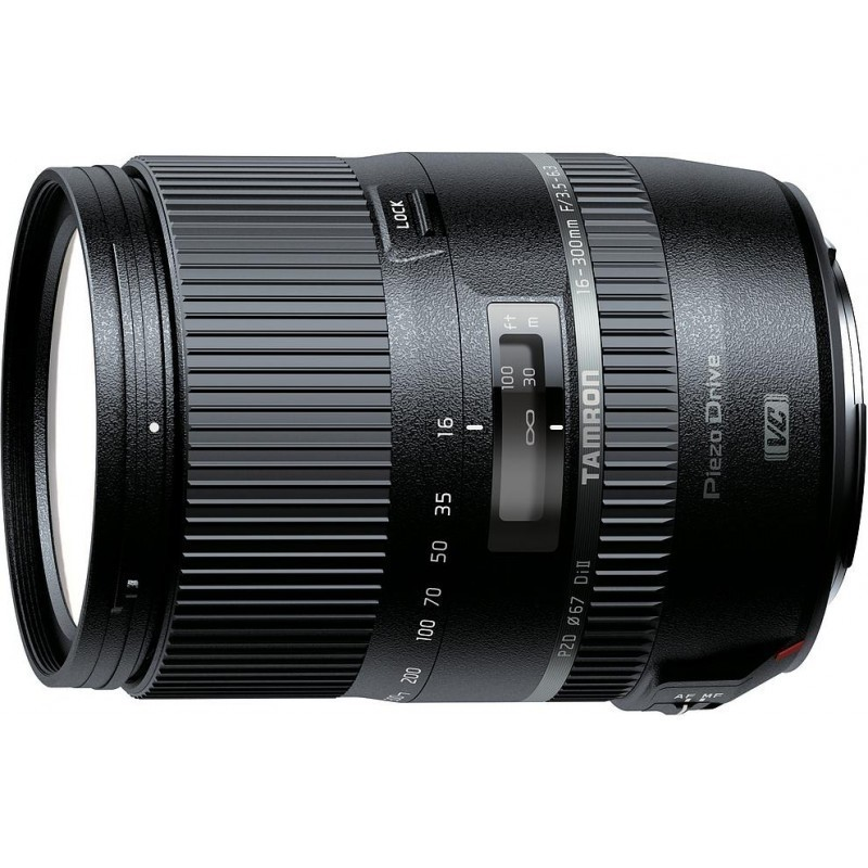 Tamron AF 16-300mm f/3.5-6.3 DI II VC PZD Macro lens for Canon