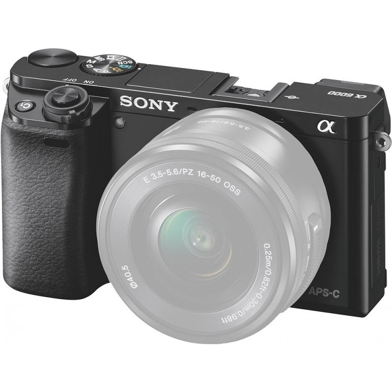 Sony a6000 body, black