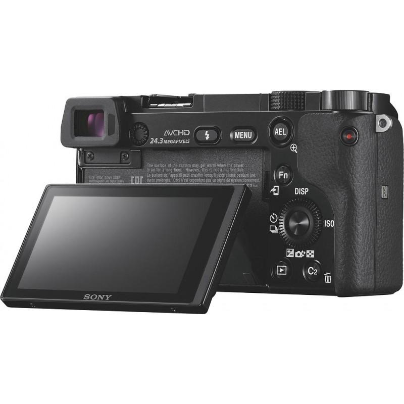 Sony a6000 body, black