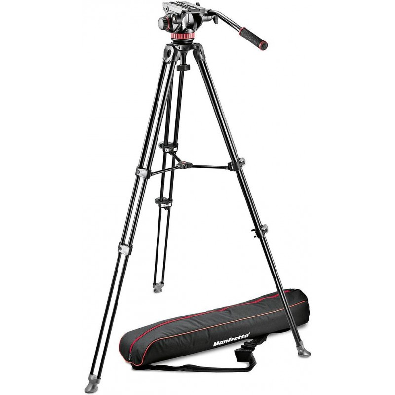 Manfrotto videostatiiv MVK502AM-1 + MVH502A videopea