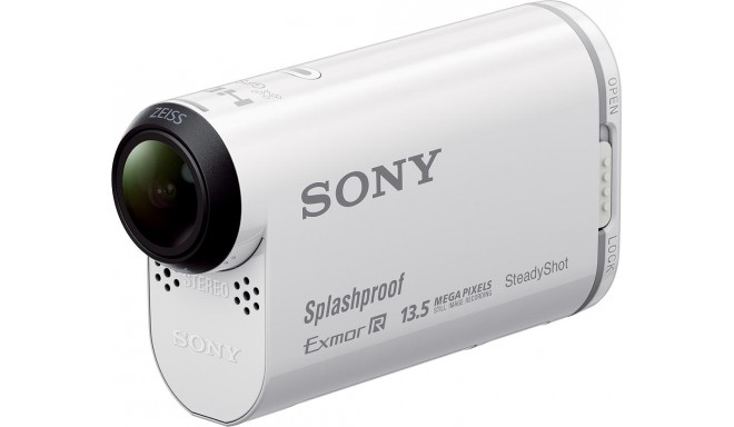 Sony Action Cam HDR-AS100VR, белый
