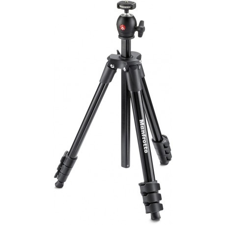 Manfrotto tripod MKCOMPACTLT-BK, black