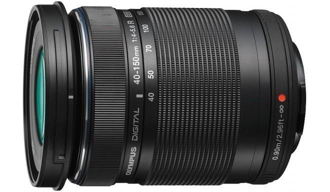 M.Zuiko Digital ED 40-150mm f/4-5.6 R objektiiv, must