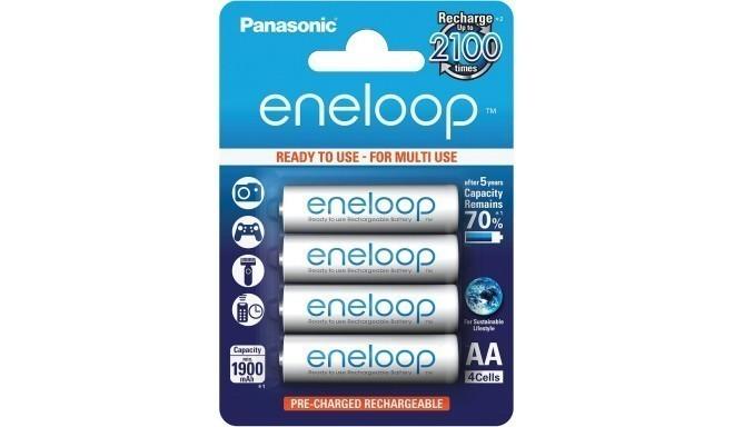 Panasonic eneloop aku AA 1900 4BP
