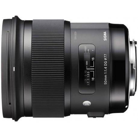 Sigma 50mm f/1.4 DG HSM Art objektiiv Nikonile