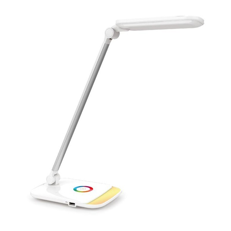 Platinet desk lamp PDLQ60 12W + USB (43804)