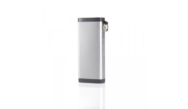 ART Mobile speaker BT with microphone, FM, SD, METALIC 10W silver BIG