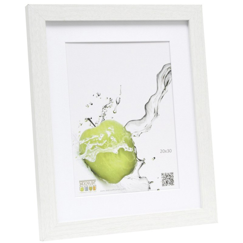 Deknudt picture frame S66KF1 P1 20x30, white - Photo frames - Photopoint
