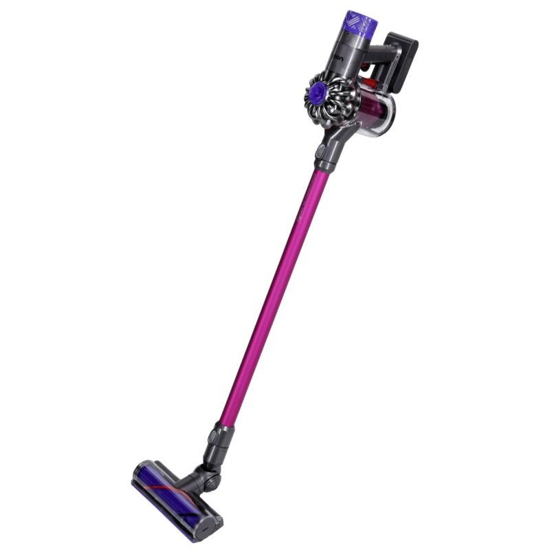 dyson cordless vacuum cleaner v6 motorhead grey pink. Black Bedroom Furniture Sets. Home Design Ideas