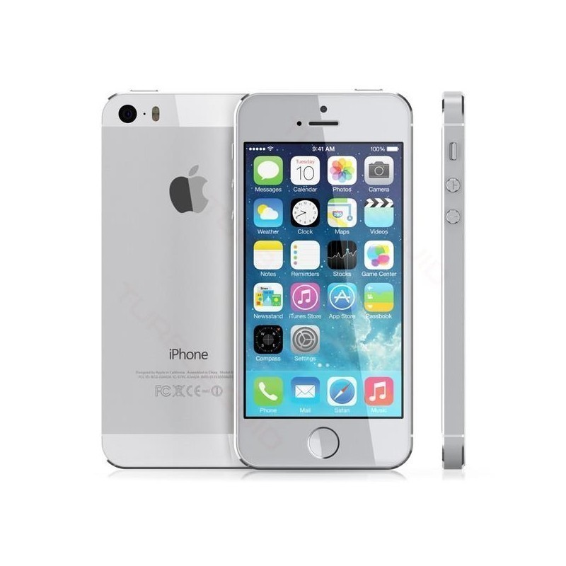 Apple iPhone 5s 32GB Silver Refurbished - Smartphones - Photopoint 6964f1270f