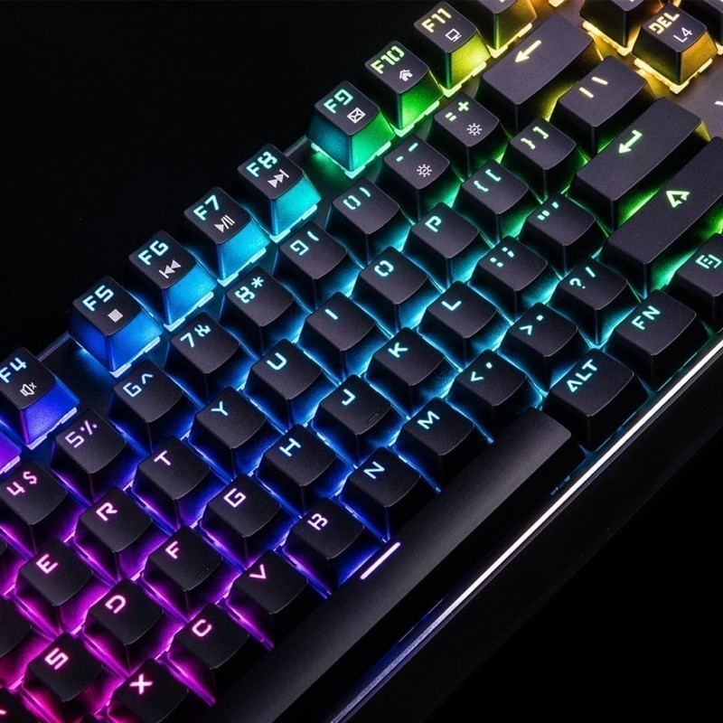 Modecom Mechanical Keyboard Volcano Lanparty Rgb Outemu