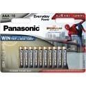 Panasonic patarei LR03EPS/10BW (6+4)