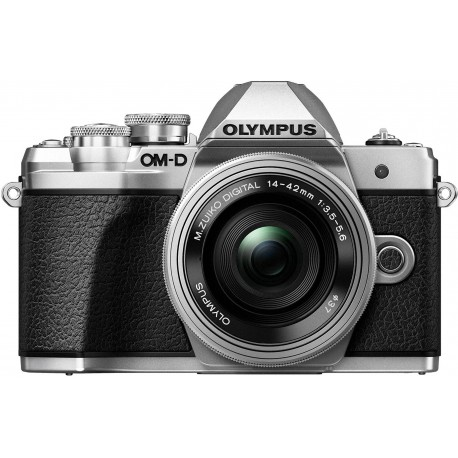 Olympus OM-D E-M10 Mark III + 14-42mm EZ Kit, серебряный