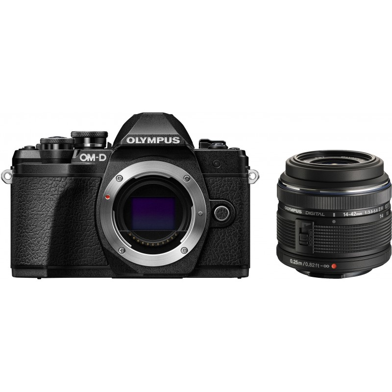 Olympus OM-D E-M10 Mark III + 14-42mm II R Kit, черный