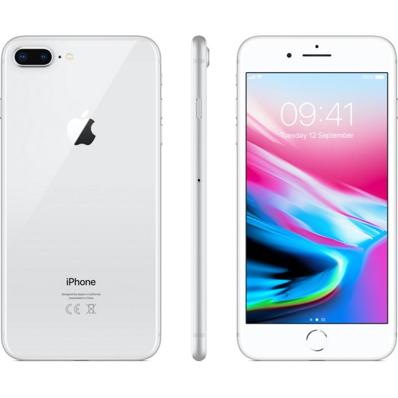 Apple iPhone 8 Plus 64GB, серебряный
