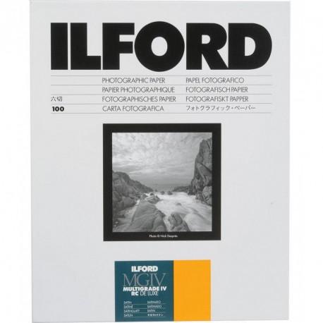 Ilford 12,7x17,8 cm MGIV 25M satiin 100 l.