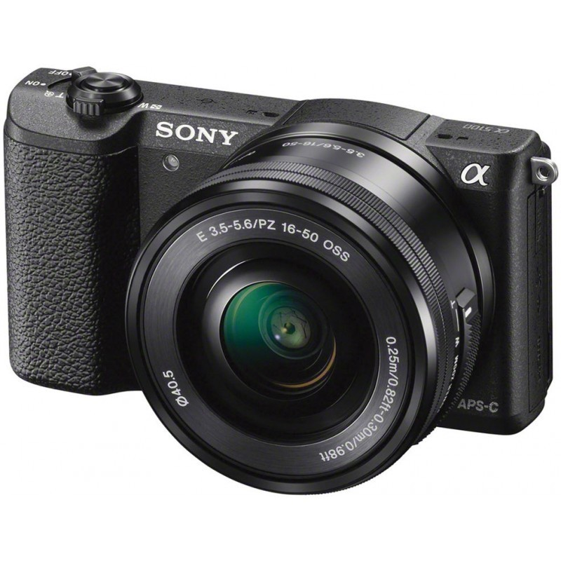 Sony a5100 + 16-50mm Kit, must