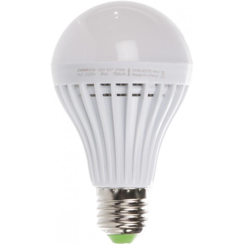 Omega Led Lamp E27 9w 2700k 42360 Led Lamps Photopoint