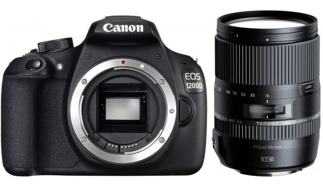Canon EOS 1200D + Tamron 16-300мм VC PZD