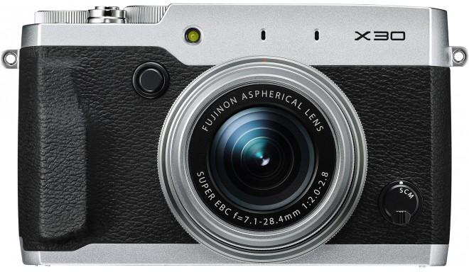 Fujifilm X30, серебристый
