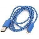 Omega kaabel Lightning-USB 1m si/ko42305