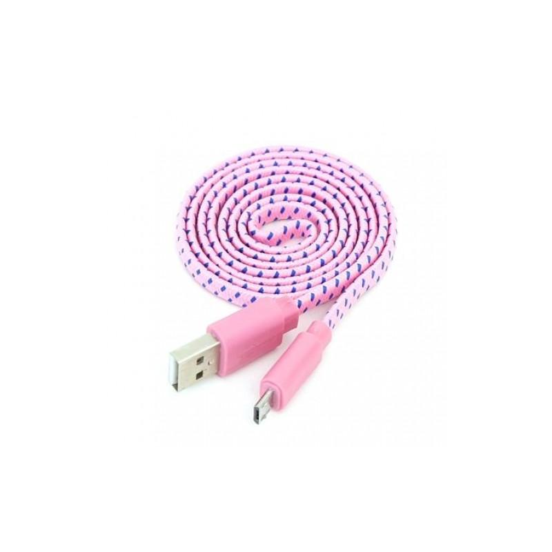 Omega kaabel microUSB-USB 1m roo/si42328