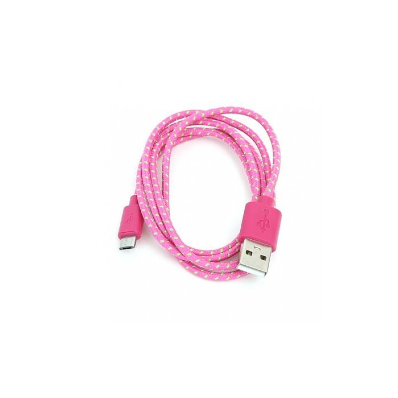 Omega kaabel microUSB-USB 1m ro/roh42319