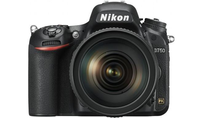 Nikon D750 + 24-120mm VR komplekts