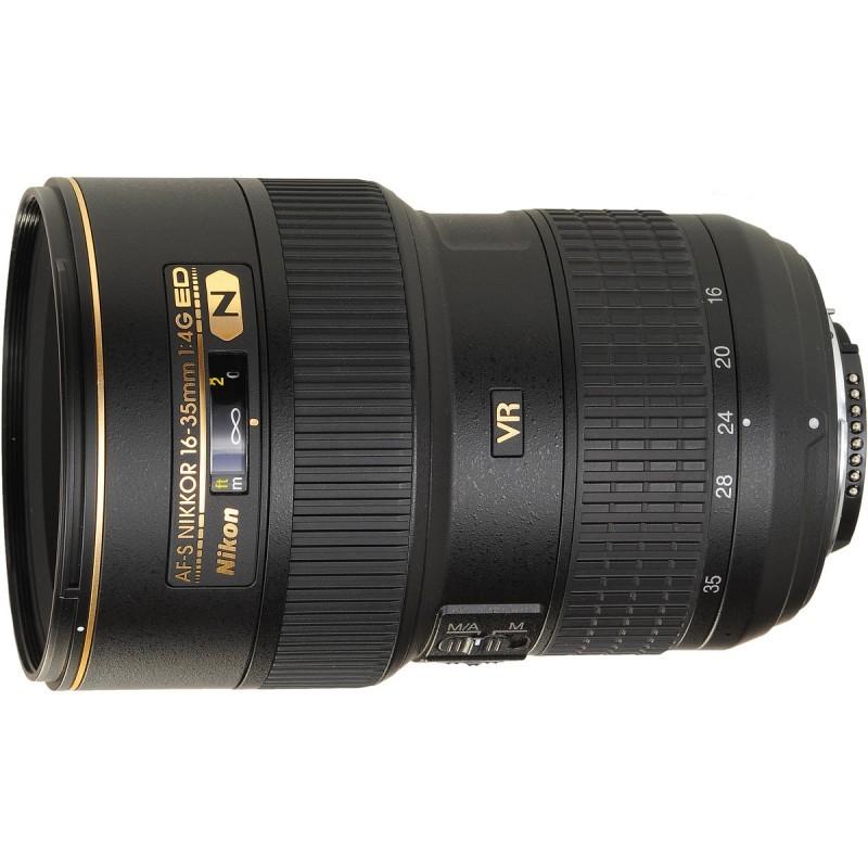 Nikon AF-S Nikkor 16-35mm f/4.0G ED VR objektiiv