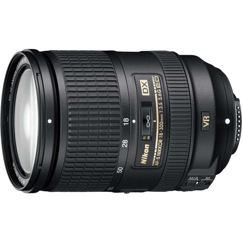 Nikkor AF-S 18-300 мм f/3.5-5.6 G ED DX VR