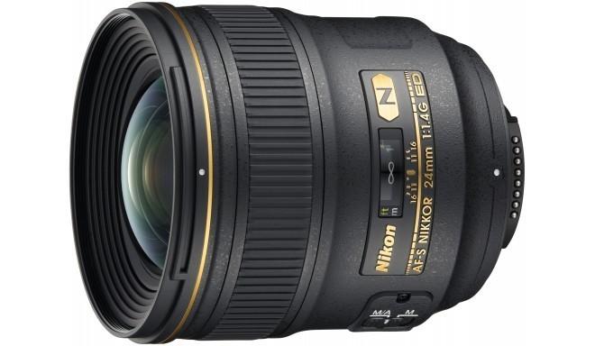Nikon AF-S Nikkor 24mm f/1.4G ED objektiiv